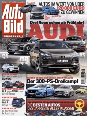 Auto Bild Abo (26 Ausgaben) für 75,40 € mit 70 € BestChoice Universalgutschein