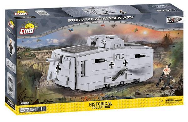 [Klemmbausteine - Sammeldeal] Cobi - Zum Beispiel: Sturmpanzerwagen A7V (2982)
