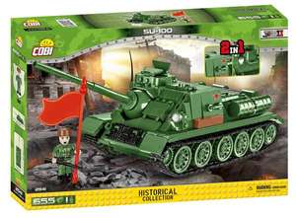 "[Klemmbausteine - Sammeldeal] Cobi - Zum Beispiel: Panzer SU-100 (2541) & Kampfflugzeug Nakajima Ki-49 ""Helen"" (5533)"