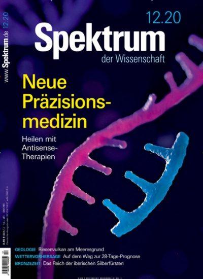 Spektrum der Wissenschaft Abo (12 Ausgaben) durch Rabatt für 56,96 €