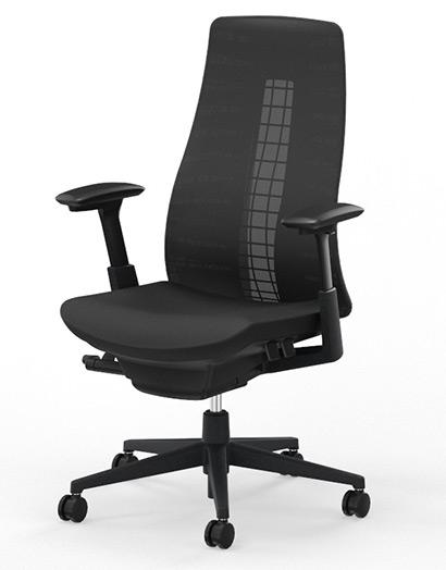 Haworth Fern Black Edition (Ausstellungsware / neuwertig) [Bürostuhl]