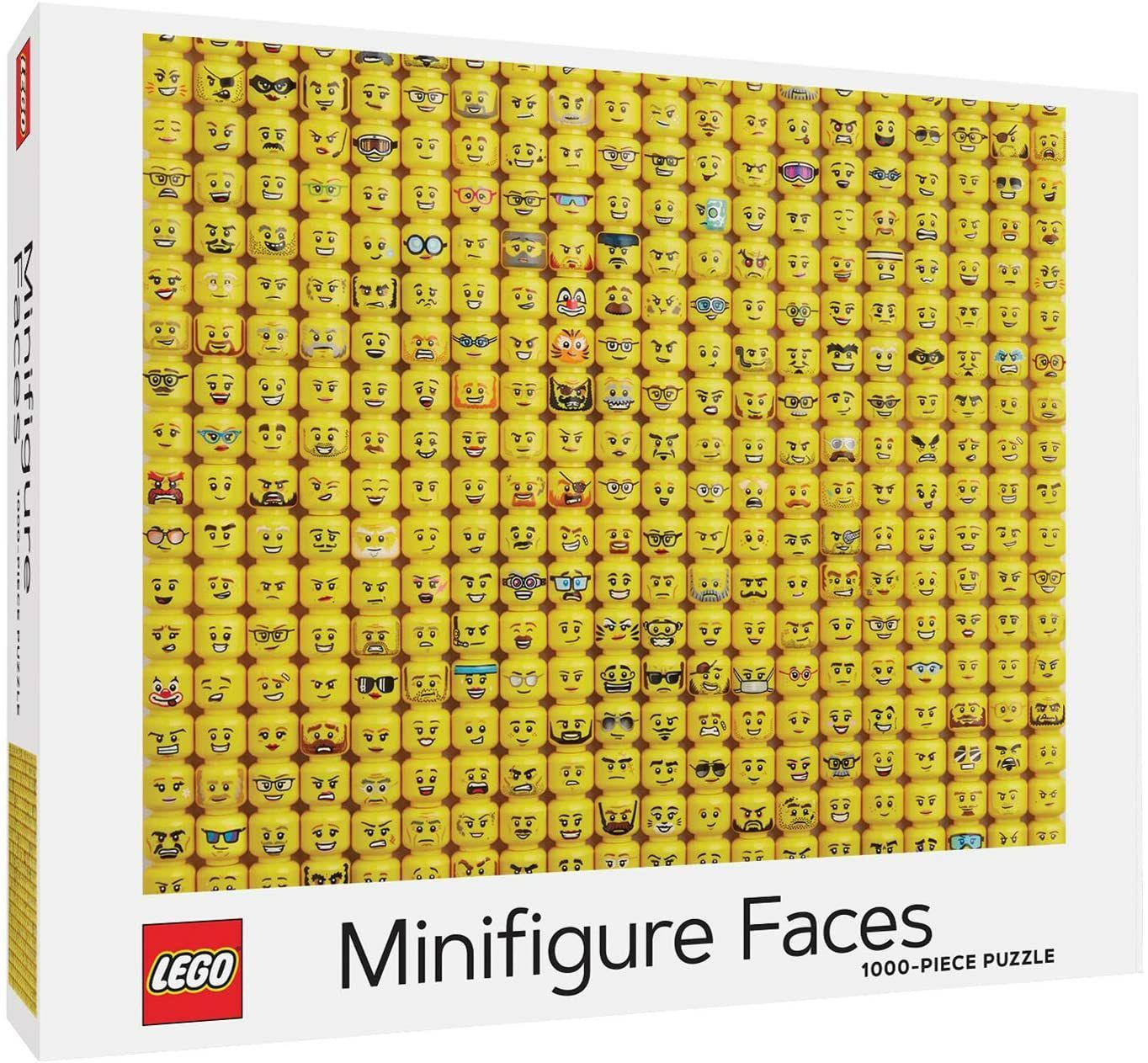Lego Puzzle Miniature Faces