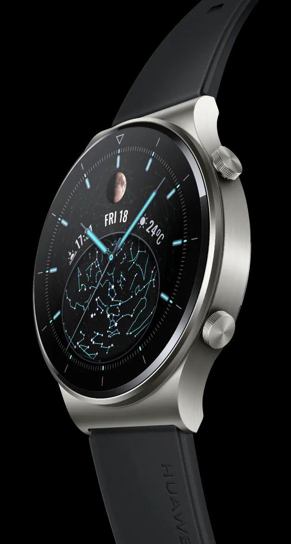 Huawei Watch Gt 2 Pro Smartwatch schwarz / grau
