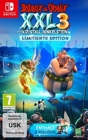 (Expert) 19,97€ bei Abholung: Nintendo Switch Asterix & Obelix XXL 3 - Der Kristall-Hinkelstein (Limited Edition) mit 2 Figuren
