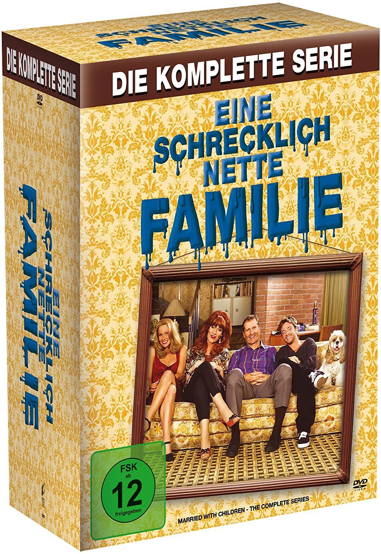 """(Amazon) """"Eine schrecklich nette Familie"""" Komplette Serie mit allen elf Staffeln auf 33 DVDs"""