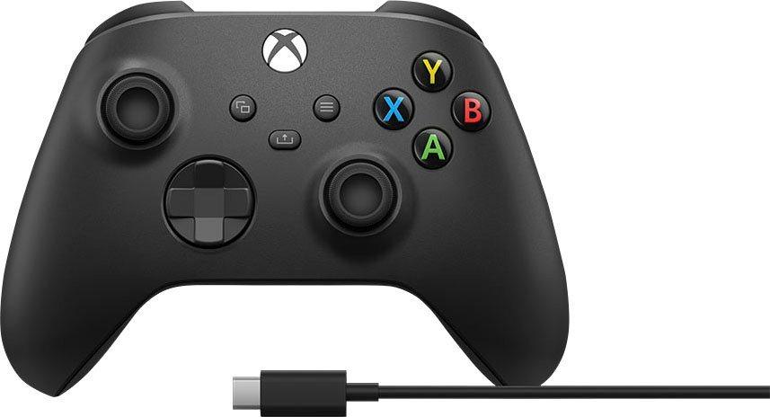 Xbox »Wireless« Controller 2020 (inkl. USB-C Kabel) + Füllartikel für 46,43 € (KEIN NEUKUNDEN DEAL)