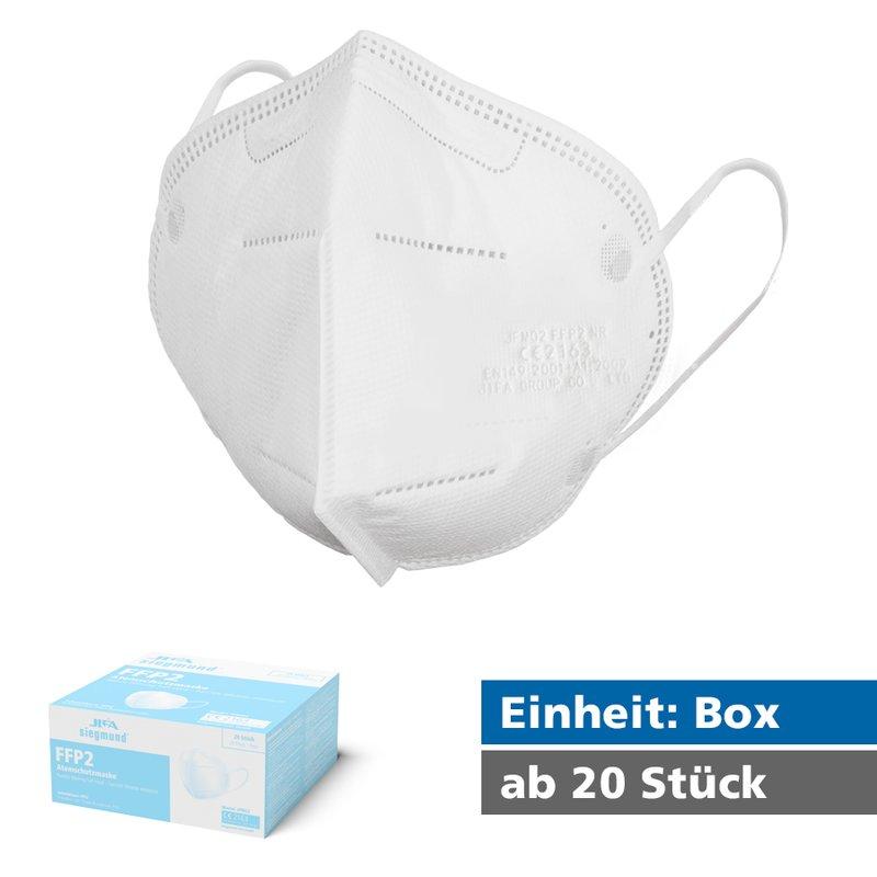 20 x FFP2-Masken - CE Zertifiziert - kostenloser Versand [Siegmund Care]