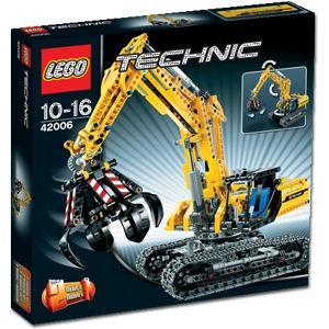 Lego Technik Raupenbagger 42006 für 43,49€ inkl. Versand