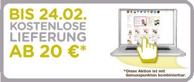 Dolce Gusto Genußpunkte jetzt einlösen! Versandkosten zur Zeit gratis ab 20€ Bestellwert!