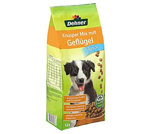 Dehner Hundetrockenfutter Knupser Mix Geflügel Hund Futter 66 Cent/kg @amzon