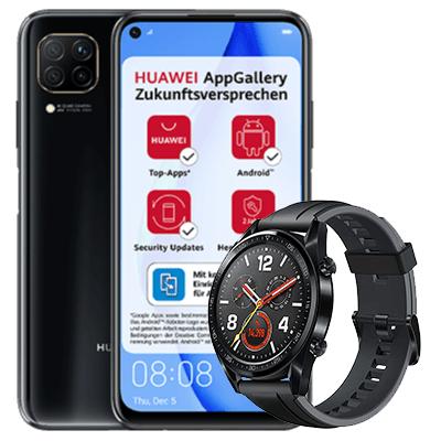 Huawei P40 lite + Huawei Watch GT + 5GB LTE