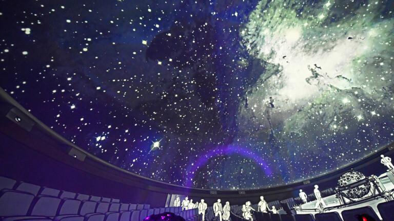 [FB & YT] Mittwochs und Freitags 18 Uhr kostenloser Stream aus dem Planetarium