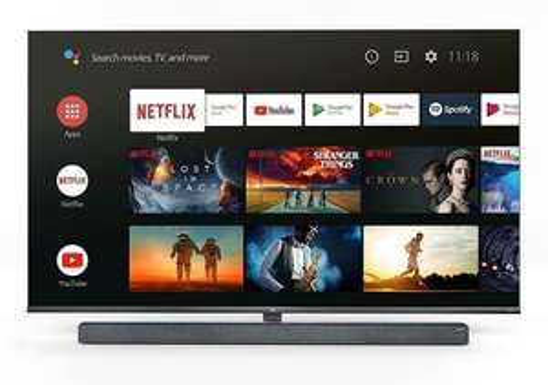 TCL 65X10 schwarz, metal, MINI LED TV (65 Zoll (165.1 cm), 4K UHD, Smart TV, Google Assistant) 100 Hz
