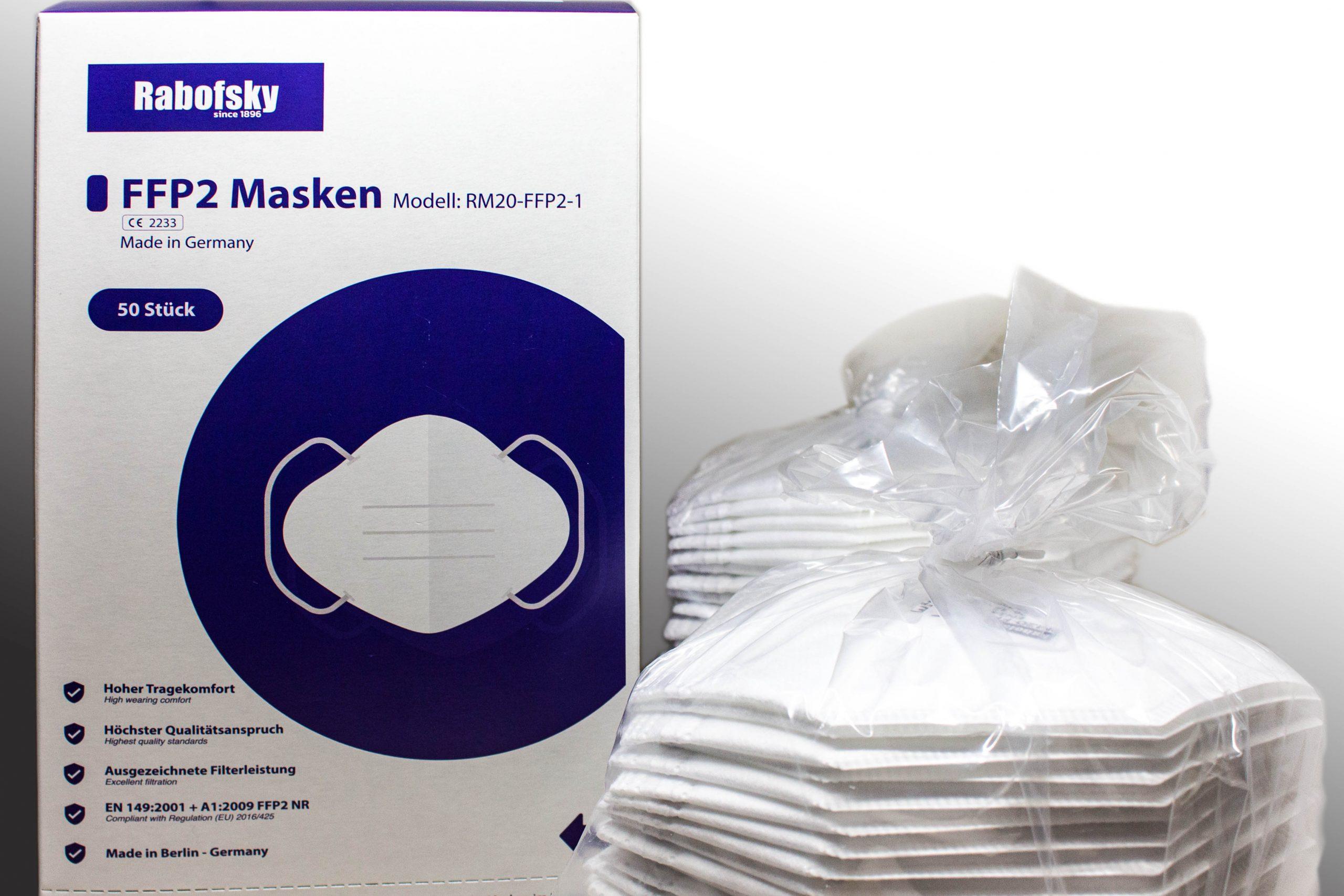 FFP2 - Masken Made in Berlin (Karl Rabofsky)