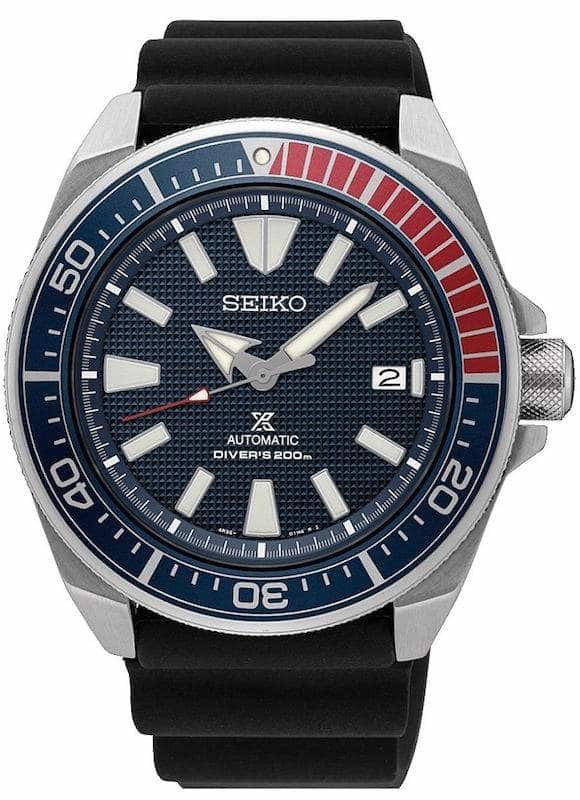 """Seiko Prospex Samurai SRPB53K1 Automatikuhr """"Pepsi"""""""