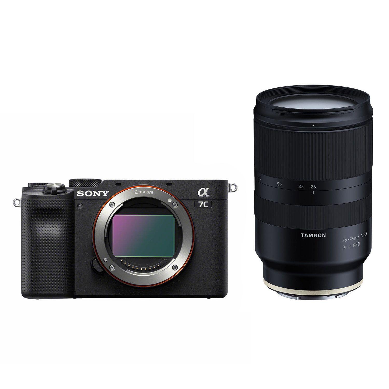 Sony Alpha 7C Systemkamera 300€ Rabattaktion - z.B. inkl. Tamron 28-75F2,8 Objektiv & 5 Jahre Garantie