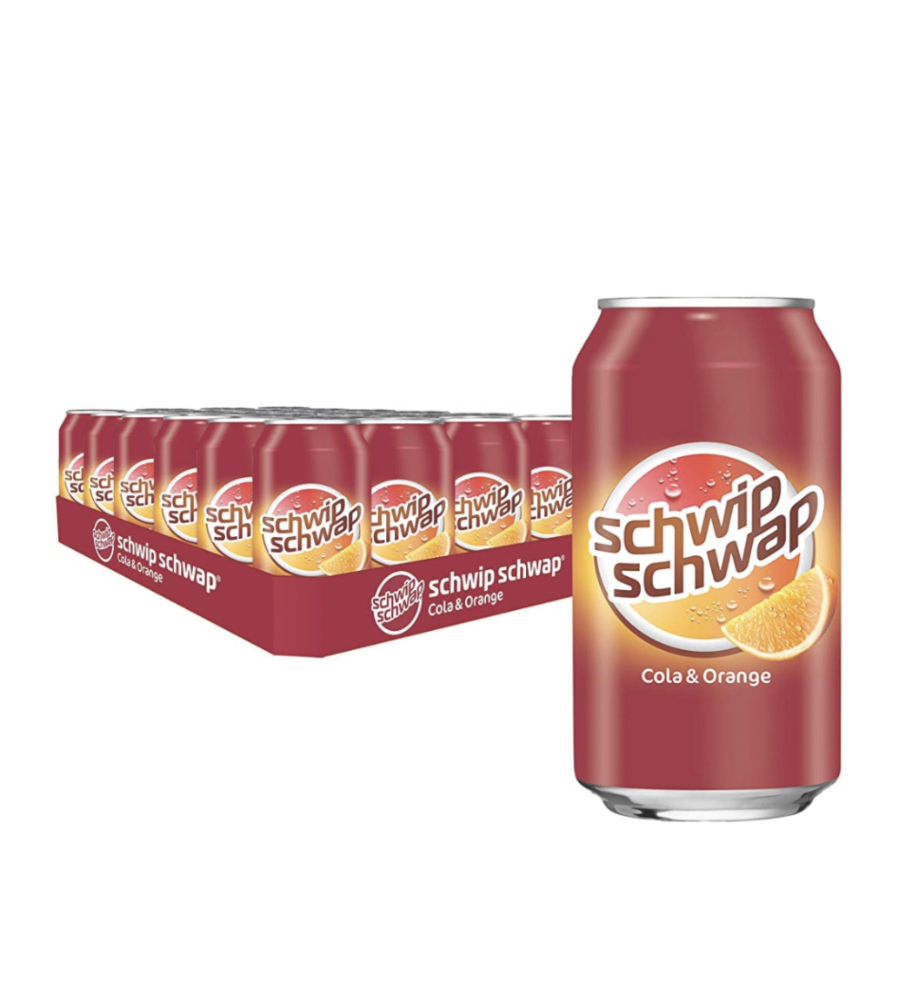 [Prime] Schwip Schwap 24er Pack (24 x 0,33l) ab 8,54 € inkl Versand zzgl. 6 € Pfand