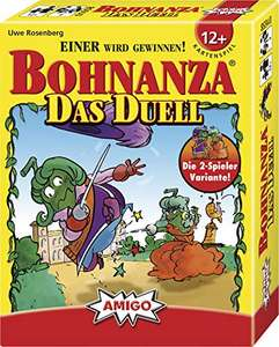 Bohnanza Duell Die Bohnanza 2-Spieler Variante Kartenspiel (Amazon Prime)