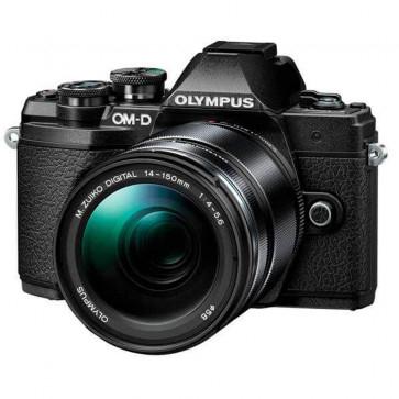 Olympus OM-D E-M10 Mark III Systemkamera + M.Zuiko 14-150mm F4.0-5.6 II Objektiv Kit in schwarz