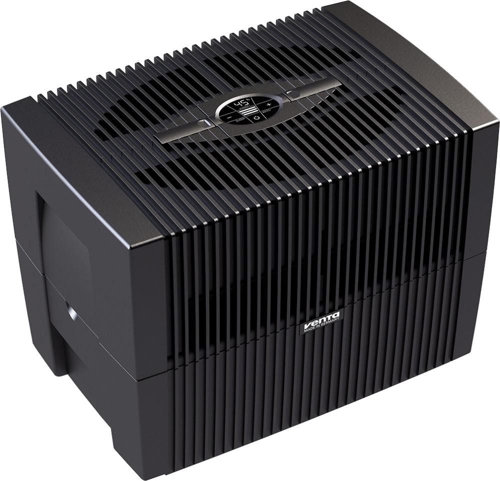 Venta LW 45 Comfort Plus Brillantschwarz Luftwäscher, Luftreinigung und Luftbefeuchtung, bis 60 m²