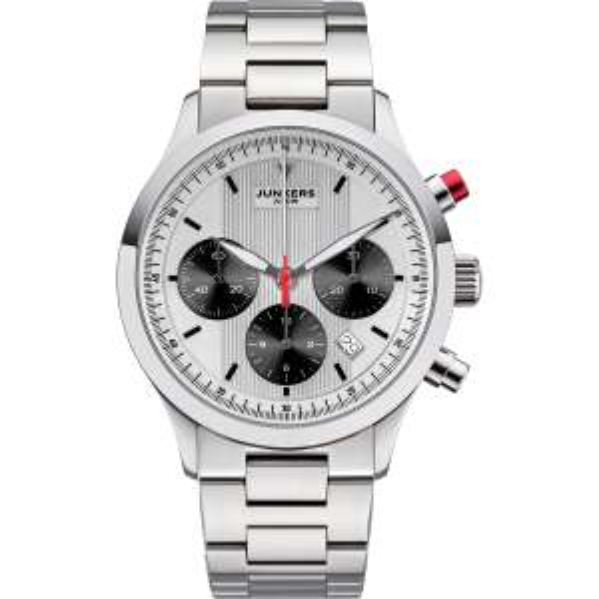 Junkers JU52 Automatik Uhr Chronograph 9.05.01.03.M (Panda, ETA 7753, 42mm)