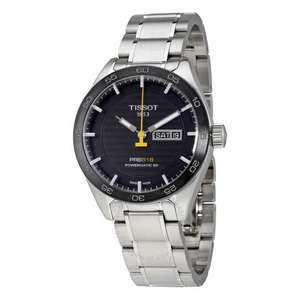 Tissot PRS 516 Automatic Black Dial Men's Watch T100.430.11.051.00 - Automatik Uhr - Powermatic 80 mit Saphirglas