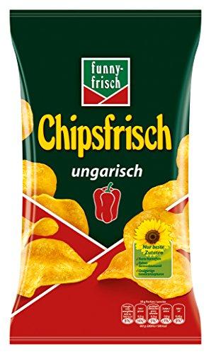 funny-frisch Chipsfrisch ungarisch, 10er Pack (10 x 175 g)