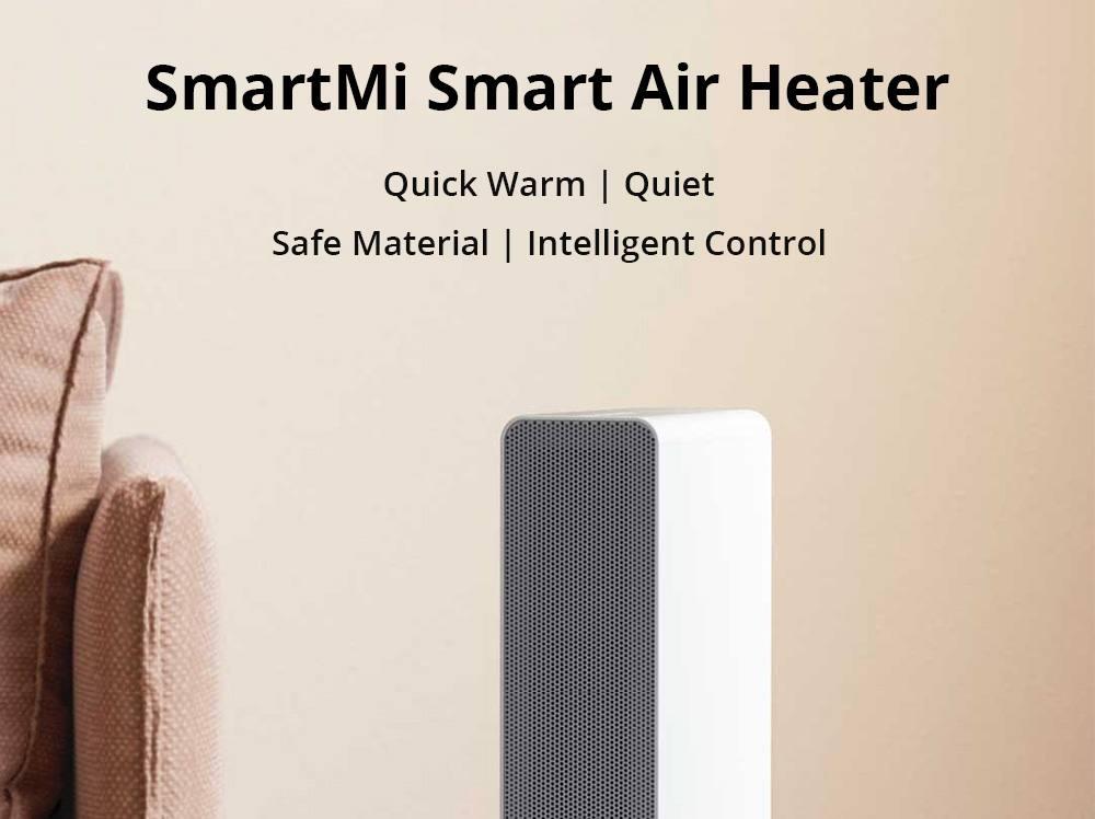 Xiaomi SmartMi elektrischer Heizlüfter/ Heizung mit PTC Keramik (CN Stecker) für 89,99€