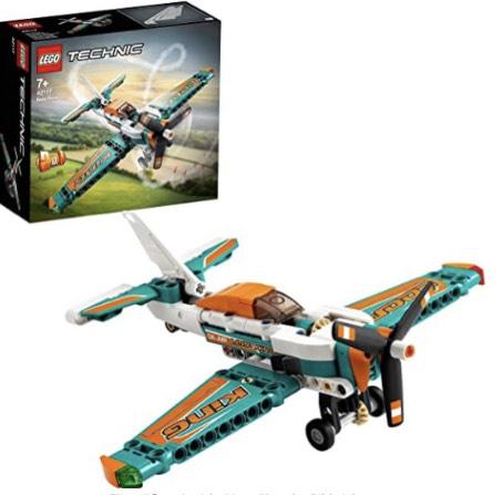 [prime] LEGO Technic 42117 - Rennflugzeug oder Jetflugzeug 2-in-1
