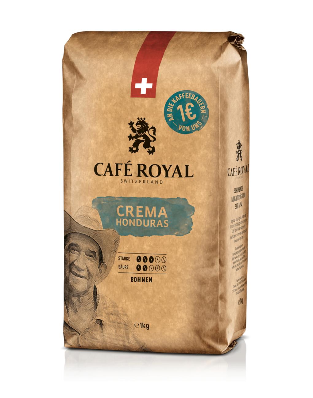 3kg Cafe Royal Creme aus Honduras (UTZ)