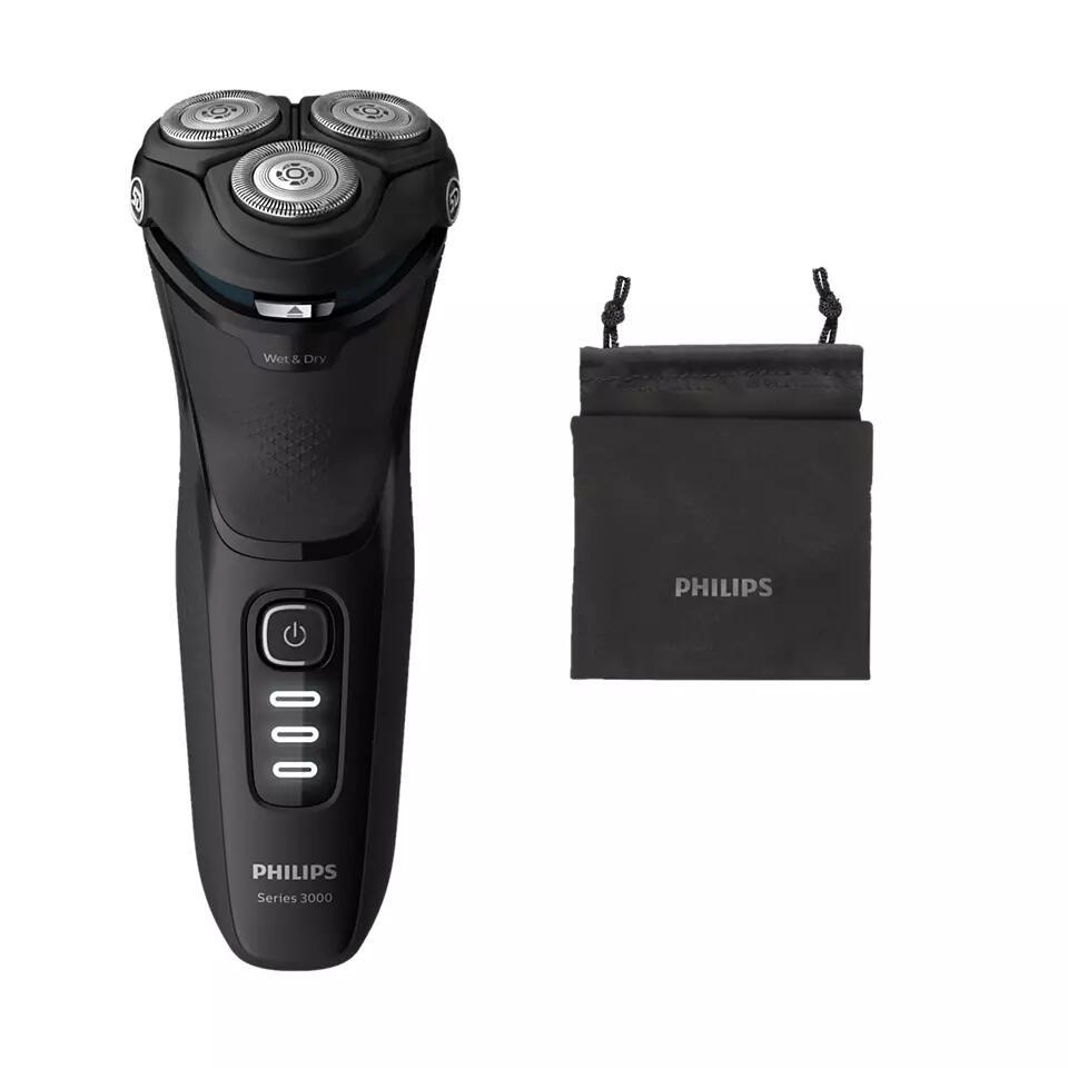 Philips Shaver Series 3000 / Elektr. Nass- und Trockenrasierer S3233/52