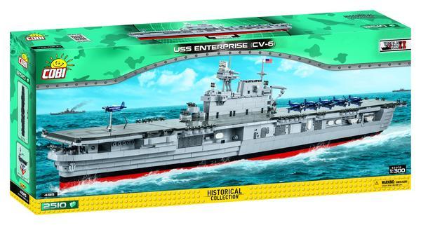 Cobi 4815 - USS Enterprise CV-6