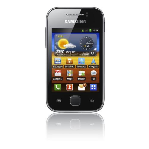 Samsung Galaxy Y S5360 Smartphone für 77,77€ inkl VSK