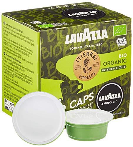 Lavazza 16 A Modo Mio Eco Caps Kapseln, kompostierbar, verschiedene Sorten 16er-Packung