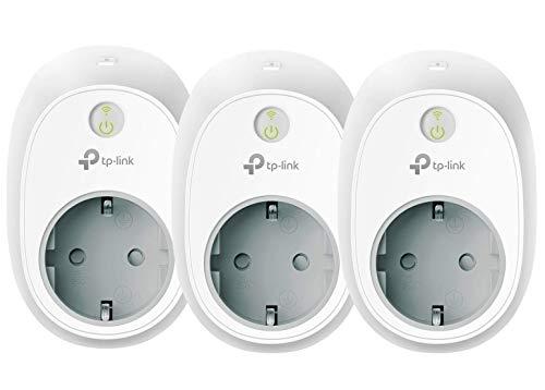 TP-Link Kasa Amazon Alexa zubehör Smart Home WLAN Steckdose HS100 (EU)(funktionieren mit Echo und Echo Dot, Google Home usw.) 3 pack
