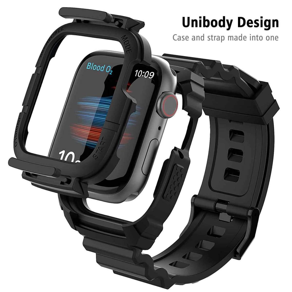 2x Apple Watch Armband + Case (42/44mm) (Preis für 2 Stück)