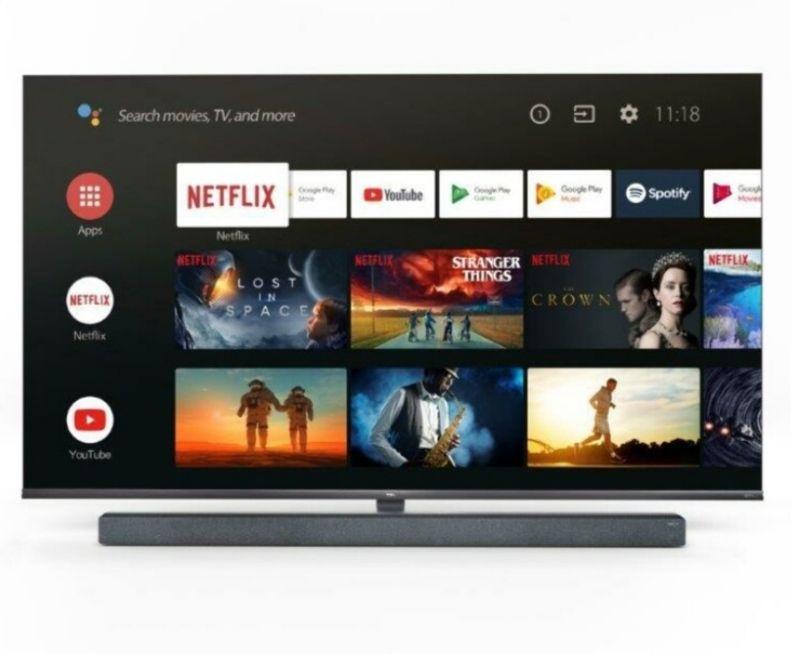 TCL 65X10 schwarz, metal, MINI LED TV (65 Zoll (165.1 cm), 4K UHD, Smart TV, Google Assistant)