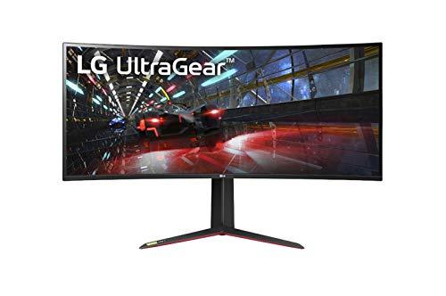 "LG 38GN950-B 95,25 cm (37,5"") Curved 21:9 UltraWide QHD+ IPS Gaming Monitor (144 Hz, Display Port, USB 3.0, HDR, Höhenverstellbar, 2X HDMI"