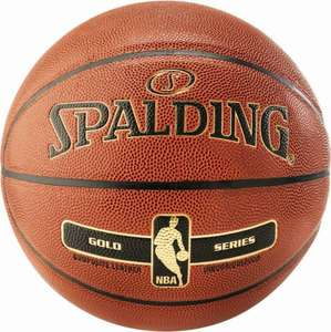 [ebay.de] Spalding NBA Gold 5 Basketball orange/gold und weitere