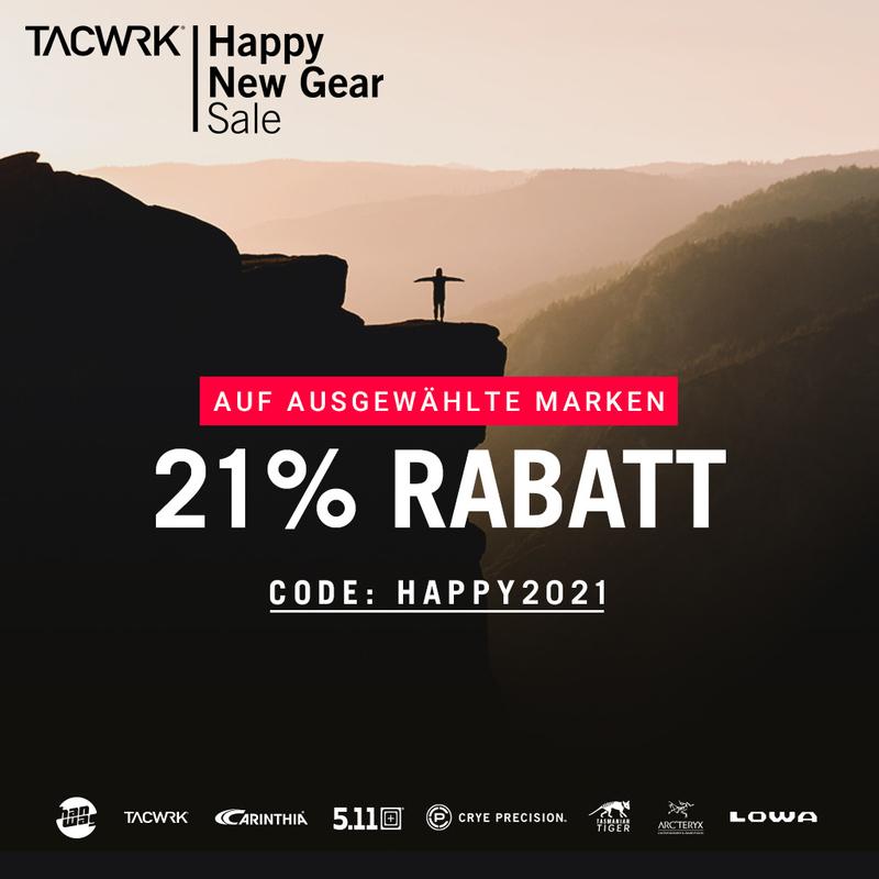 TACWRK - 21% Rabatt auf ausgewählte Marken: Tasmanian Tiger, Carinthia, 5.11 Tactical, Arc´teryx, TACWRK, Hanwag, Lowa, Crye Precision