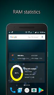 CPU / RAM / Battery Widgets (4* > 500.000) und CPU Identifier Pro (4,7* > 100.000) im Google Play Store als Android Freebie