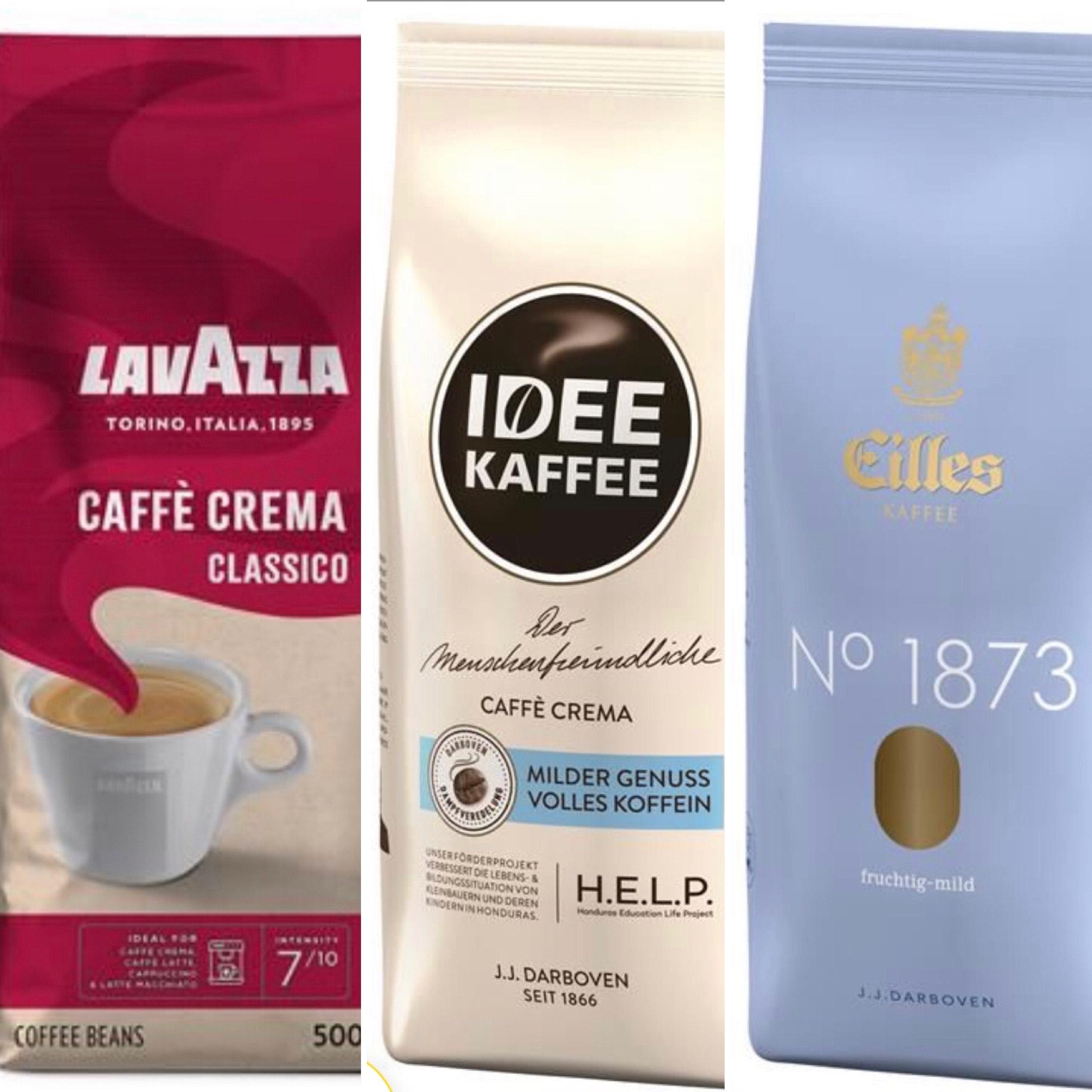 [Durstexpress] IDEE KAFFEE CAFFÉ CREMA 1 KG & KAFFEE CLASSIC 500 GR