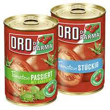 [ REWE Center ] Oro di Parma Dosen-Tomaten. versch. Sorten