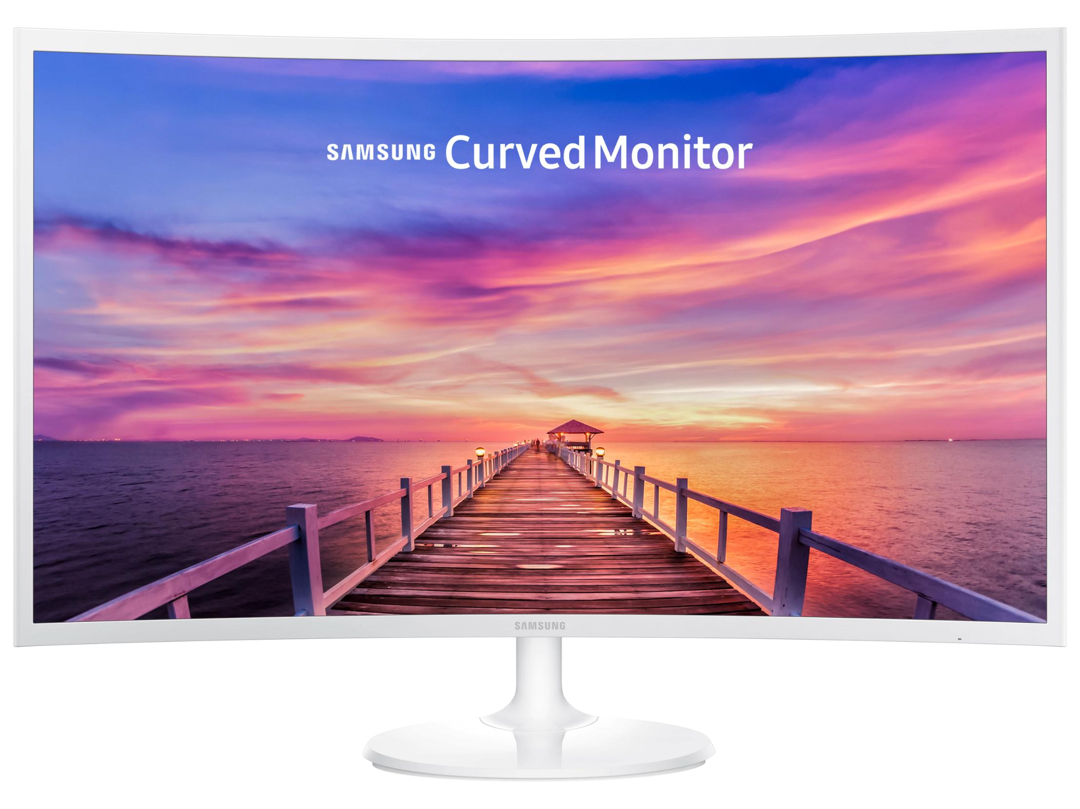 Samsung Curved Monitor C32F391FWU (32 Zoll, 16:9 Curved, VA, Full HD, 4ms, 60Hz, FreeSync, 1x DP, 1x HDMI, VESA)