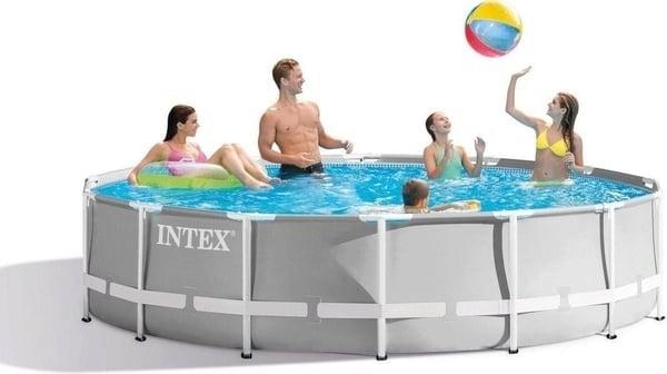 Jetzt an den Sommer denken: runder Intex Gartenpool 305x76cm (lieferbar 2/21)