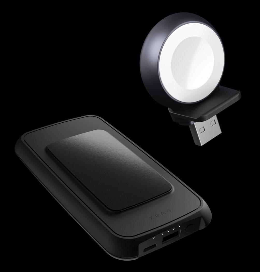 ZENS-qi-Powerbank für kabelloses Laden (iPhone & iWatch)