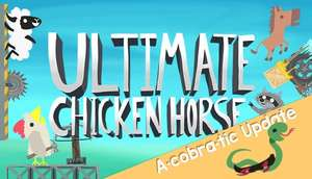 Ultimate Chicken Horse Steam Key (Humble Store) für 5,62€ | 4 Pack für 20,61€ (also je 5,15€)
