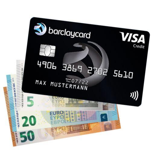 75€ Bonus zur dauerhaft kostenlosen Barclaycard Visa Kreditkarte für Neukunden (100% Bankeinzug, weltweit kostenlose Abhebung & Zahlung)