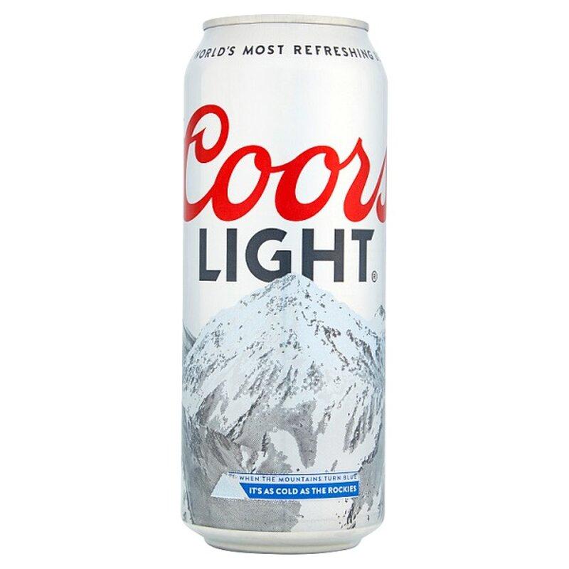 Coors Light - 24 x 500 ml inkl. 6€ Pfand