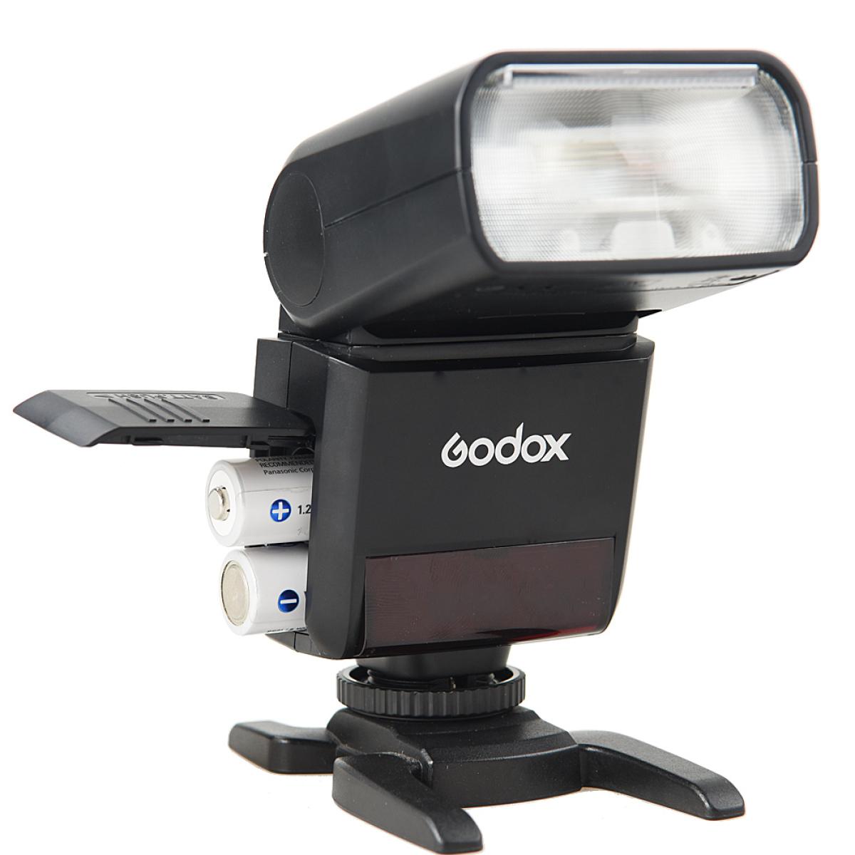 15% Rabatt auf alles von Godox bei Foto Leistenschneider - z.B. Godox TT350 MFT Aufsteckblitz